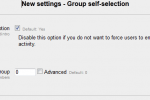 Review: Activity Group self-selection for Moodle 2