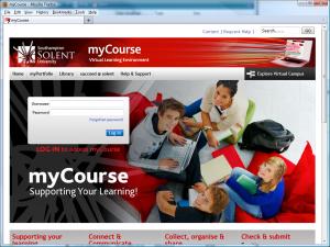Figure 11 - Southampton Solent University http://mycourse.solent.ac.uk