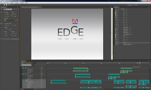 Editor view of a demo file