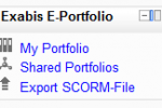 Review of the Exabis E-Portfolio for Moodle 2