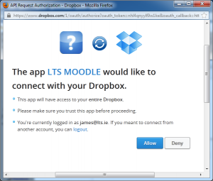 moodle-file-picker-dropbox-app-request