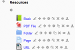 New icons in Moodle 2.4