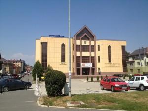 """Aula """"Sergiu Chiriacescu"""" a Universității Transilvania din Brașov"""