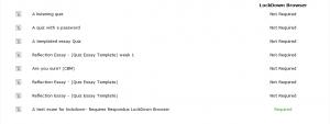 Moodle Respondus Quiz Dashboard